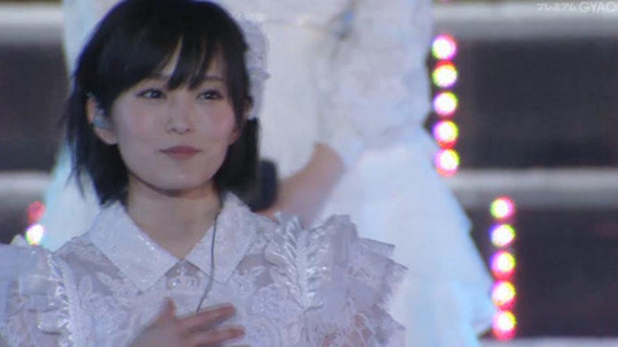 【山本彩】浜スタAKB単独コン・365日の紙飛行機キャプ【さや姉】