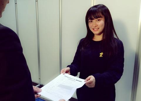 【川上千尋】プロ野球開幕と同時にちっひーも総選挙立候補!