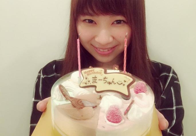【小笠原茉由】まーちゅんのお誕生日をNMB組が続々とお祝い!【ハピバ】