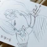 【三田麻央】まおきゅんが書いたMステの甘噛み姫さや姉、みるきーが凄い・・・・!!!!