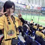 【山本彩】神10-1巨・さや姉、東京ドームで野球観戦し勝利の女神になるwww
