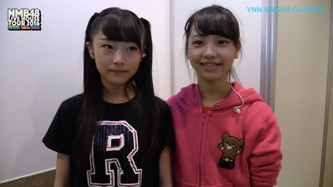 【NMB48】22日21時~YNN・ライブハウスツアー2016teamN舞台裏3/23ZeppTokyo配信!