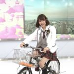 【三田麻央】まおきゅん、三度NHKにチャリで乗り付けるwwwww【STOP!危ない自転車】