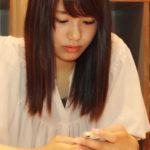 【東由樹】ゆきつんカメラの1日1米、#10はあーぽん。美人である。テーマ:携帯、メンバー:沖田彩華