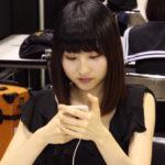 【東由樹】ゆきつんカメラの1日1米 #12はモカちゃん!白い。テーマ:携帯、メンバー:林萌々香