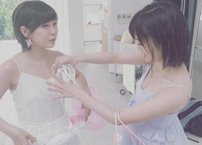 【山本彩/渡辺美優紀】7/29のBOMBでさやみるきーグラビア!いつ以来だろう。