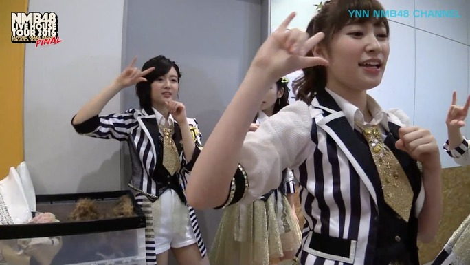 【NMB48】7月22日21時~YNN「LIVE HOUSE TOUR FINAL夜 舞台裏」定点カメラ映像配信!