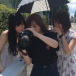【東由樹】ゆきつん、BOMBの撮影に「カメラマン」として参加!ふぅちゃんを撮る!
