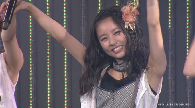 【NMB48】7月18日劇場公演チームBⅡ「逆上がり」キャプ画像。やまりな緊急登板おつかれさま!