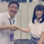 【武井紗良】さららん、NMB48劇場支配人としてHKT48・尾崎さんと外交www【武井アイドル王への道】