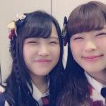 【渋谷凪咲】なぎちゃん「同じ顔の人見つけました」w笑うと目がなくなる2人www