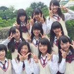 【NMB48】5期生メンバーが1期生初表紙と同じ場所で集合写真撮影!
