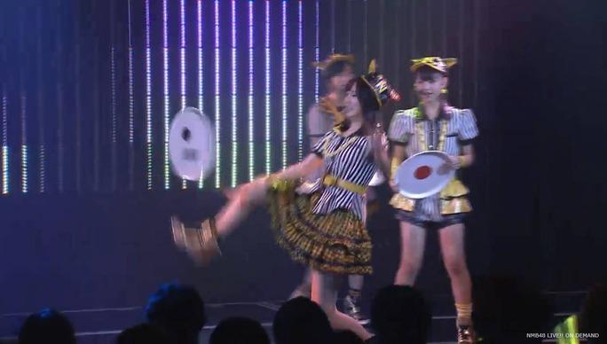 【NMB48】7/24劇場公演チームN「ここにだって天使はいる」昼キャプ。なるちゃんお盆落として大慌てw