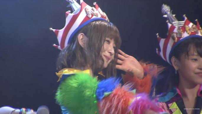 【NMB48】7/24劇場公演チームN「ここにだって天使はいる」夜キャプ。5期生の書いたキャメロンの似顔絵披露ww
