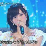 【山本彩】さや姉・FNSうたの夏まつりAKB48「夏の扉」キャプ画像。ふれーっしゅ♪