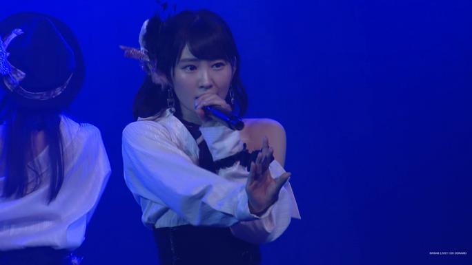 【NMB48】7/29劇場公演チームBII「逆上がり」公演キャプ画像。7月生まれ様歓迎・うどんの回。