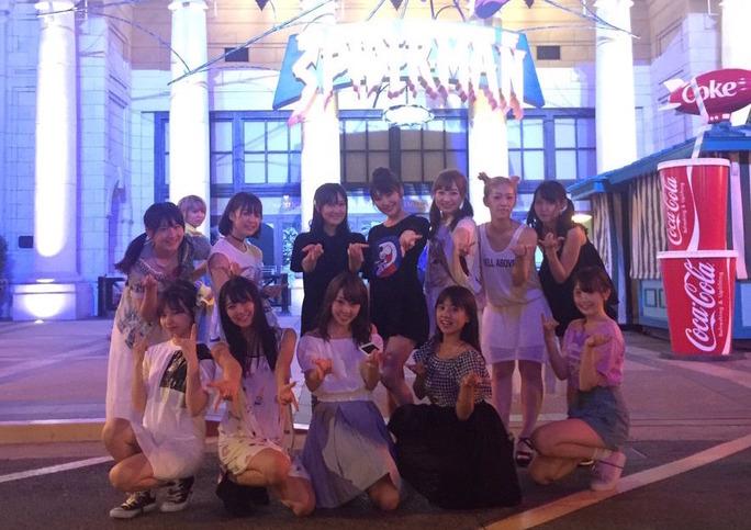 【NMB48】チームM「USJ やり過ぎ」オフショットまとめ!公演後はユニバ満喫太郎ww遊びな遊びな♪