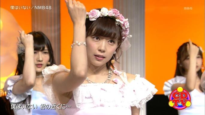 【NMB48】CDTV「僕はいない」キャプ画像。おそらく渡辺美優紀ラスト地上波音楽番組。ラストはNMBらしく〆ましたwwww
