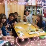 【磯佳奈江/林萌々香】いそちゃんモカちゃんがINAC神戸豪華メンバーでお食事wええなw