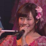 【NMB48】渡辺美優紀卒業公演キャプ3。MC2~ファンレターまで。