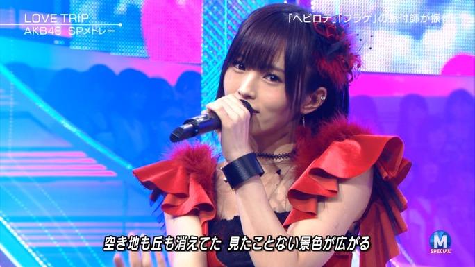 【山本彩】さや姉出演:ミュージックステーション2時間スペシャルキャプ画像。最後ww