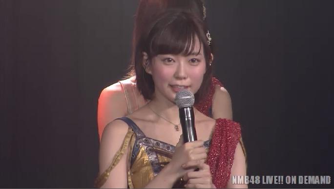 【NMB48】渡辺美優紀卒業公演キャプ。オープニング~MC1まで。
