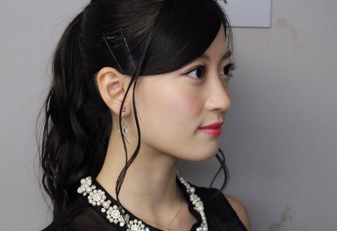 【東由樹】ゆきつんカメラの1日1米♯83・けいっち。美人だなぁ。テーマ:横顔、メンバー:上西恵