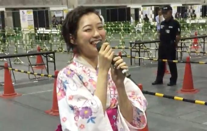 【渡辺美優紀】写メ会最後の挨拶、「たこ焼き、、焼け、、」【動画】