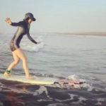 【白間美瑠】サーファーみるるんが可愛いw波乗り女子いいね!