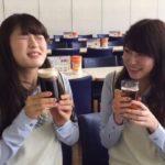 【渋谷凪咲/吉田朱里】なぎちゃんとアカリン、初ビールを体験するも…まだちょっと早かったようでw