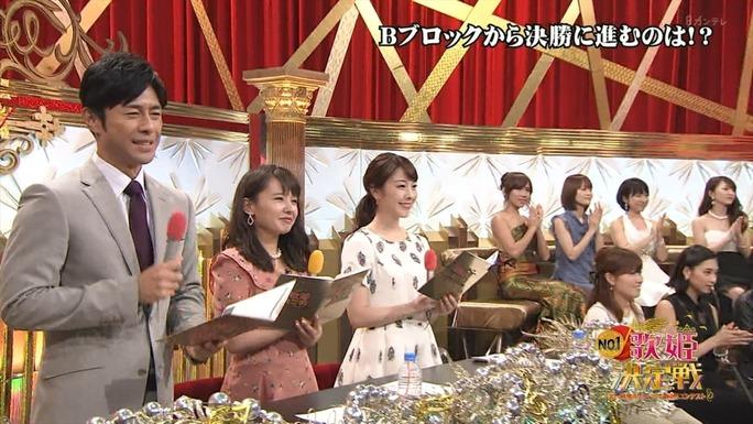 【山田菜々】気づいたらセンターMCだったななたんのNo.1歌姫決定戦キャプ。
