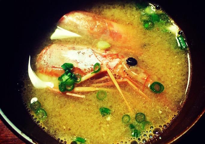 【須藤凜々花】りりぽん母上様直伝海老味噌汁。絶対美味いやつ。朝頂きたい。