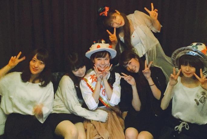 【渡辺美優紀】みるきーフライングお誕生日会に豪華な面々w可愛いなしかしw