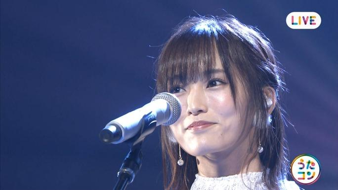 【山本彩】さや姉・NHKうたコンキャプ画像。紙飛行機と雪恋を披露。