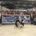 【木下春奈】はるちゃん東京最後の握手会。多くのファンからお見送りされてました。
