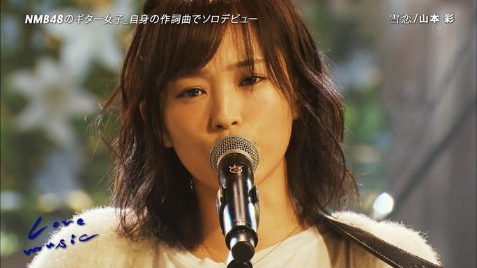 【山本彩】さや姉出演Lovemusicキャプ画像。もぉなんかすげぇわ