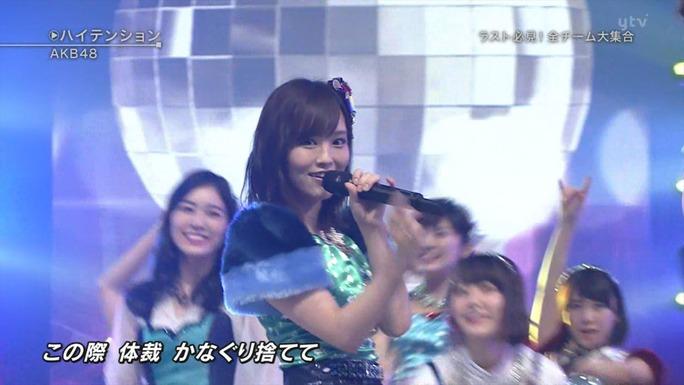 【NMB48】山本彩選抜・AKB48ハイテンションキャプ。さや姉、コケるw