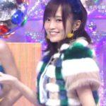 【山本彩】さや姉出演・11/25ミュージックステーションキャプ画像。