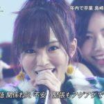 【山本彩/白間美瑠】FNS歌謡祭・AKB48ハイテンションキャプ画像。