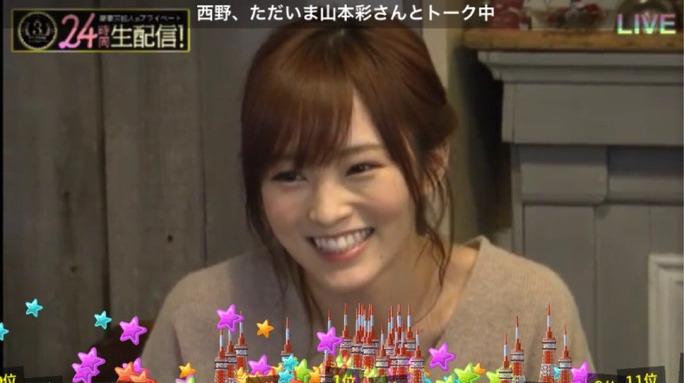 【山本彩】さや姉SHOWROOM3周年記念、西野さんがまぁまぁ突っ込んだ話をするw