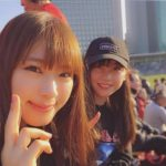 【渋谷凪咲/薮下柊】なぎっしゅーの2人がラグビー観戦!ナギニキの活躍もあり帝京大決勝へ!