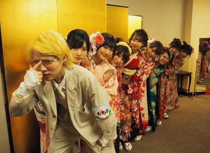 【NMB48】祝新成人!可愛い晴れ着姿の中、百花のスーツ姿が異彩を放つwwwおめでとう(^^)