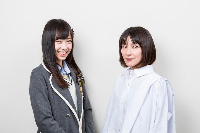 【石塚朱莉】あんちゅ連載「劇団 石塚朱莉」第2回、奥菜恵さん編が公開。