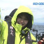 【門脇佳奈子】3/2ビッグ・フィッシングキャプ。かなちき泉佐野でタチウオに挑む!寒そうw