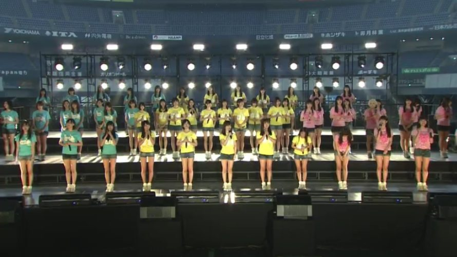 【NMB48】「誰かのために」プロジェクト京セラドームニコ生「オープニング〜チームNライブ」キャプ&現地レポ