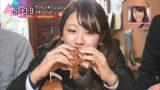 【福本愛菜】あいにゃん出演「かんさい情報ネットten. おでかけコンシェルジュ」キャプ画像。美味しそうに食べるなw