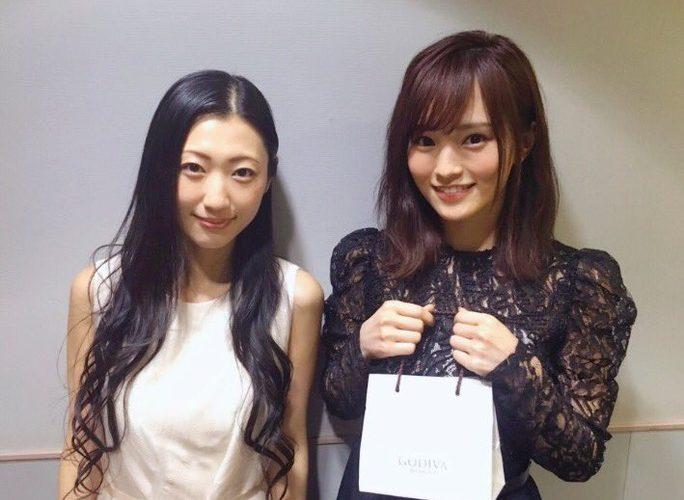 【山本彩】さや姉、壇蜜さんの2ショット。壇蜜さんのわるきー、見てみたい気がしないでもないw