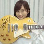 【山本彩】さや姉ファーストアルバム「Rainbow」特典ギターお渡し会でアゴギター再びwハッシュタグw