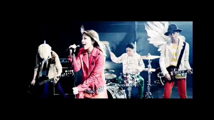【岸野里香】Over The Topメジャーデビュー発表記念ニコ生キャプ。「僕らの旗」MVも解禁!TMさんバリに風浴びまくりw