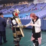 【NMB48】マブリットキバさんとAKIRA先生の握手wなんか夢のツーショットw京セラレポート。